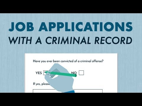 Jobs You Can Get With A Criminal Record